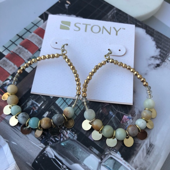 stony Jewelry - Beaded Earrings